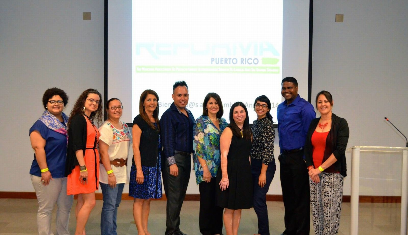 REFORMA Puerto Rico Chapter Officers (2014-15)